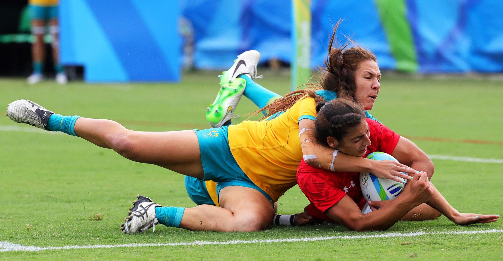 Прекрасная половина человечества борется за звание олимпийских чемпионок в регби