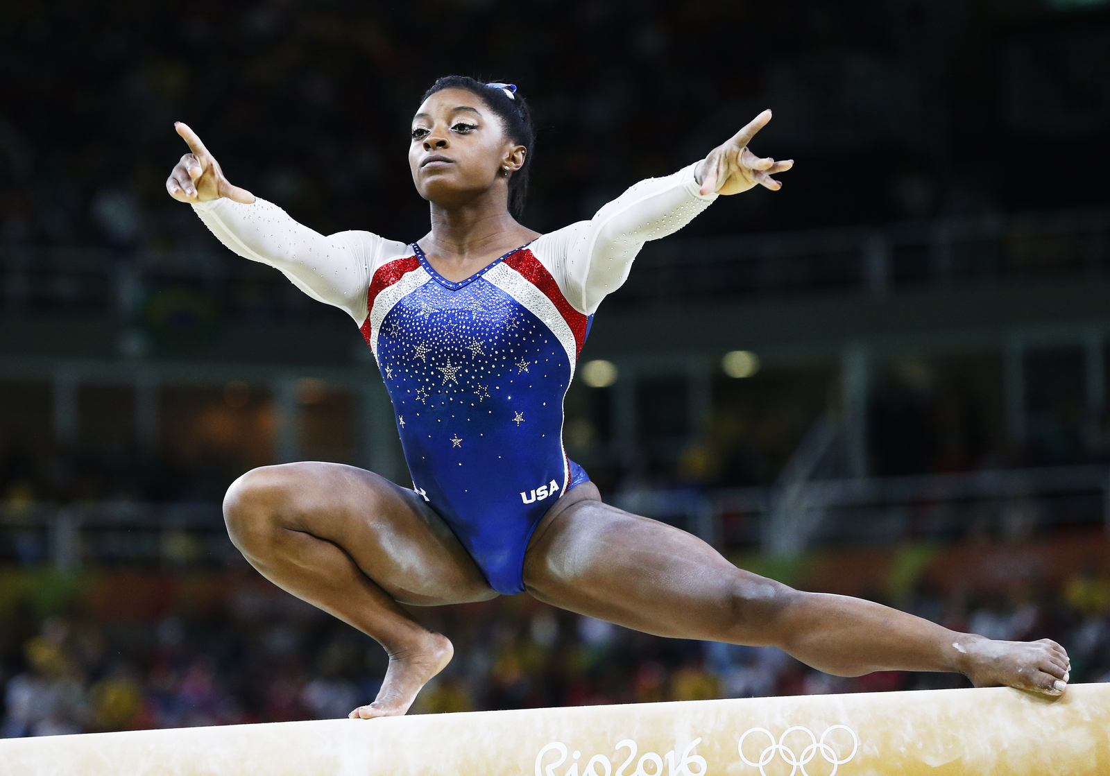 Симона Райз стала абсолютно олимпийской чемпионкой, победив в личном многоборье