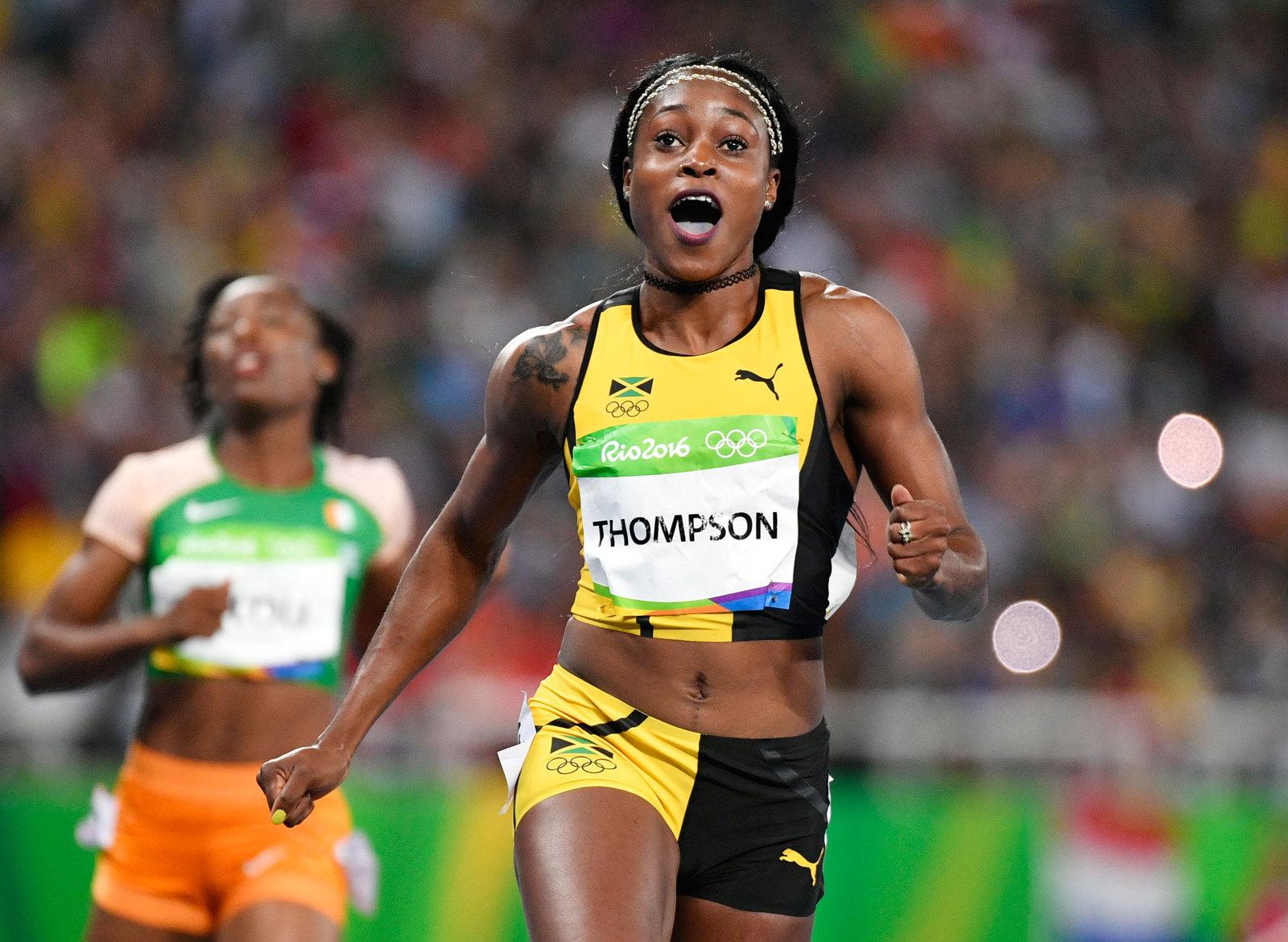 На стометровке у женщин не было равных ямайской бегунье Элейн Томпсон
