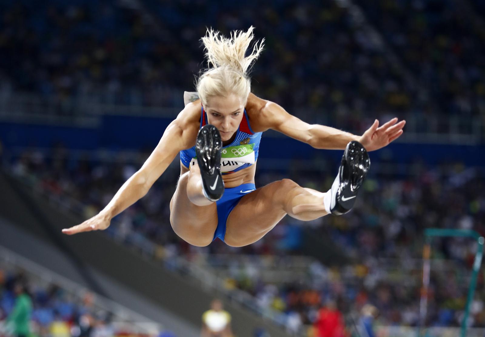 Единственная легкотлетка из России Дарья Клишина, допущенная к Олимпийским играм в Рио, начала свое выступление