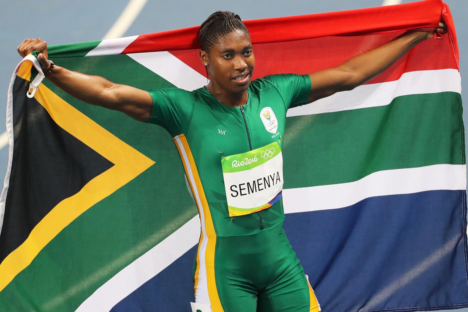 Южноафриканка Кастер Семеня победила на 800-метровой дистанции