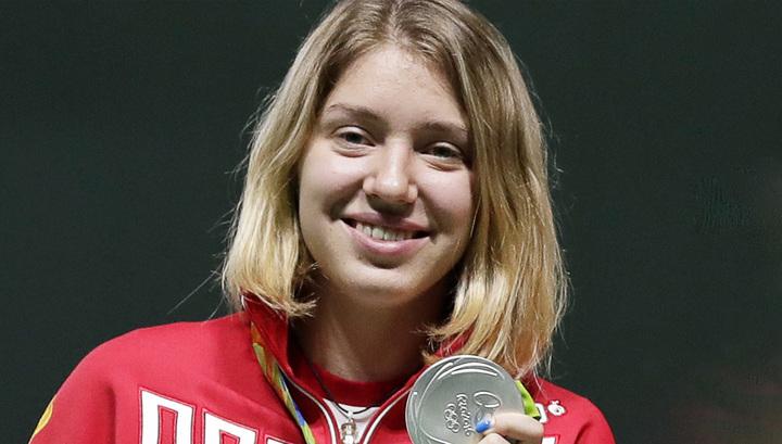Россиянка получила серебряную медаль наОлимпиаде встрельбе изпневматического пистолета