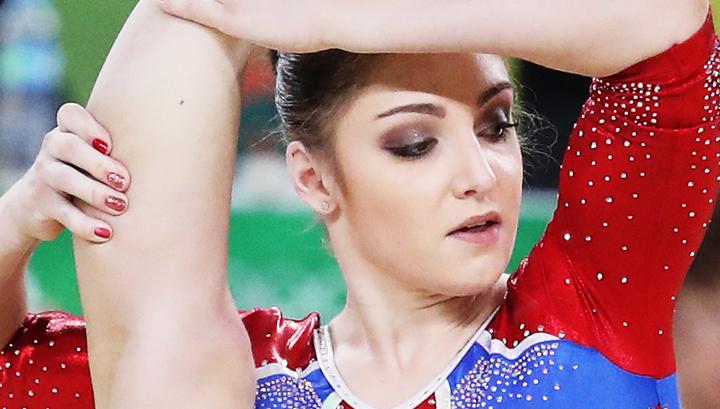 Женская сборная Российской Федерации поспортивной гимнастике завоевала сереброОИ