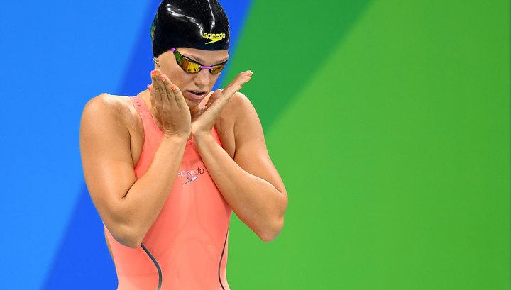 Серебряный заплыв Юлии Ефимовой в бассейне Рио