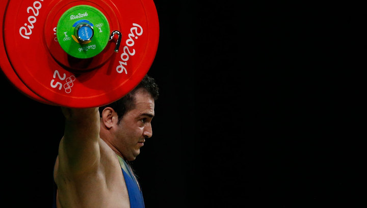 Белорусский штангист Вадим Стрельцов стал вторым наОлимпиаде вРио-де-Жанейро