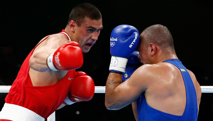 Боксер Евгений Тищенко победил на Олимпиаде в Рио