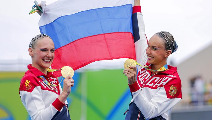 Русские синхронистки завоевали «золото» Олимпиады вгруппе
