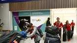 Постепенно  в Рио прибывают очастники Олимпиады-2016