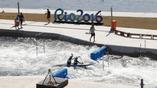 Тренировочные олимпийские заплывы по слалому
