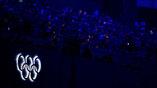 Олимпийские кольца на стадионе Маракана
