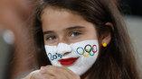 Юная болельщица на Олимпийских играх в Рио