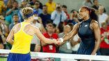 Серена Уильямс неожиданно уступила украинской спортсменке Элине Свитолиной в олимпийском теннисном турнире
