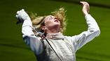 Портрет олимпийской чемпионки в фехтовании на рапирах Инны Дериглазовой