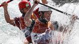 Американская двойка в борьбе за медали в гребном слаломе