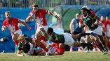 Олимпийский полуфинал между регбистами ЮАР и Великобритании