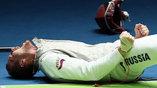 Реакция Алексей Черемисинова на выход в финал команды в соревнованиях рапиристов