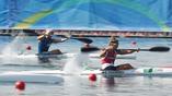 Соревнования коноисток на дистанции 500 метров
