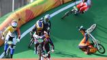 Красота и опаность соревнований по BMX