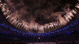 Яркая пауза между частями церемонии закрытия в Рио