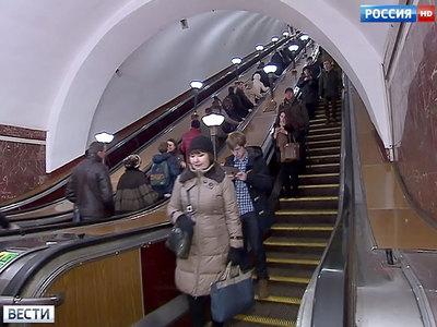 Московское метро сокращает дежурных у эскалаторов