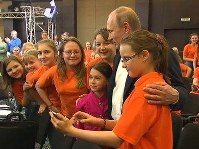 Владимир Путин встретится в Сочи с одарёнными школьниками
