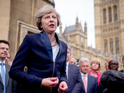 тереза мэй великобритания отстаивать санкции против россии