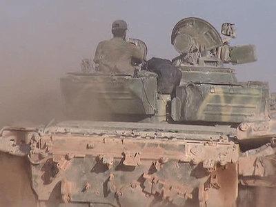 Сирийский снаряд залетел на израильскую часть Голан