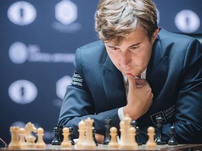 сергей карякин одержал первую победу шахматном турнире вейк-ан-зее