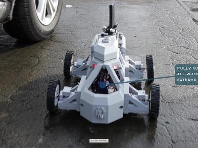 В США напечатают робокопа на 3D-принтере