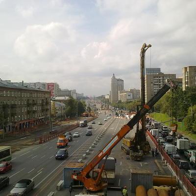 Движение по шести выделенным полосам запустят в Москве 8 октября