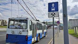 C 14 апреля в Москве запретят ездить по выделенным полосам в выходные