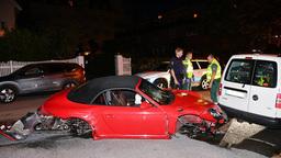 Богатые тоже бьются: пьяный подросток вдребезги разбил дорогой Porsche!