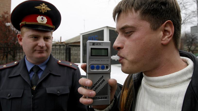 Оценивать опьянение водителей предложили по новым нормативам