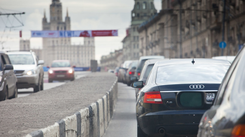Москва заняла второе место в мире по продолжительности пробок