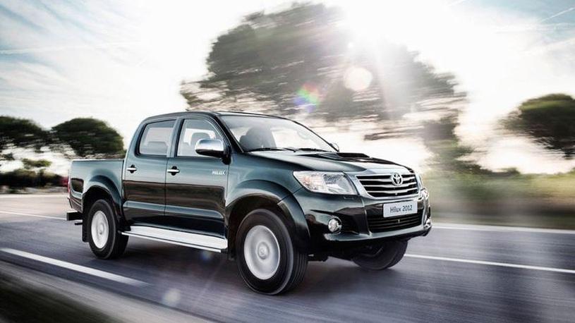 В России отзывают на ремонт почти 10 тысяч пикапов Toyota