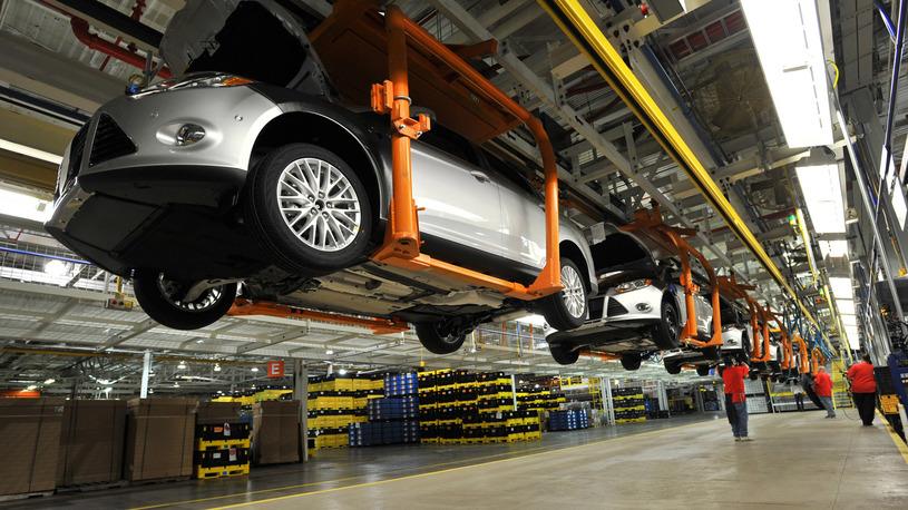 Ford остановил работу завода во Всеволожске
