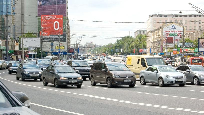 В Москве вычислили самые массовые автомобили