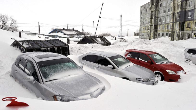 В Москве ожидается мощнейший с начала века снегопад