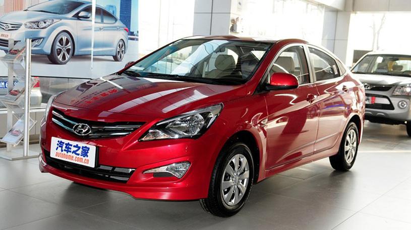 Обновленный Hyundai Solaris можно будет заказать с кожаным салоном