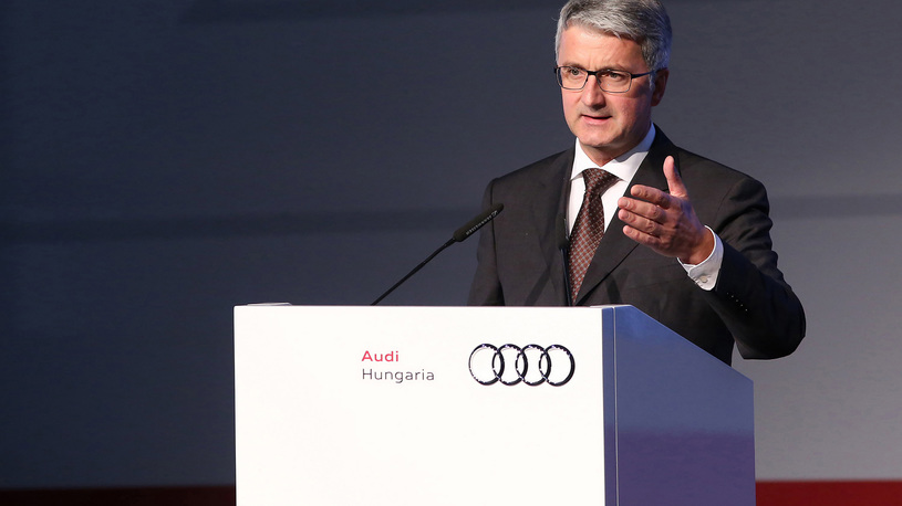 Глава Audi арестован по подозрению в мошенничестве с выхлопами