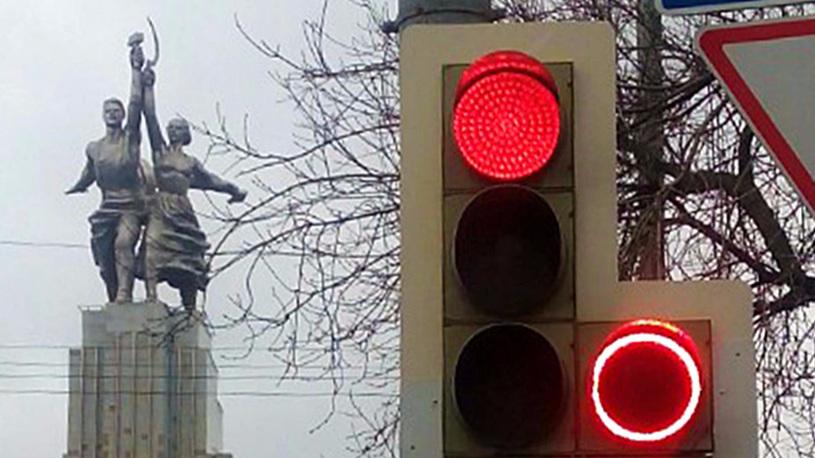 Столичные светофоры будут фиксировать выезд за стоп-линию