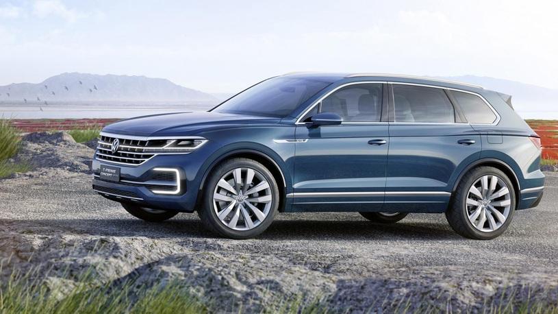 Стала известна дата премьеры нового Volkswagen Touareg