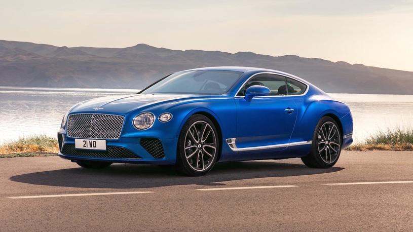 В Россию приехал новый Bentley Continental GT