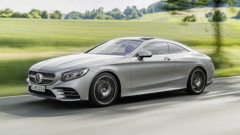 Самое роскошное купе Mercedes-Benz: российские цены