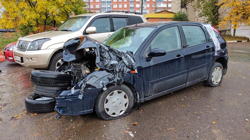 Названы автомобили, которые чаще всех разбивают