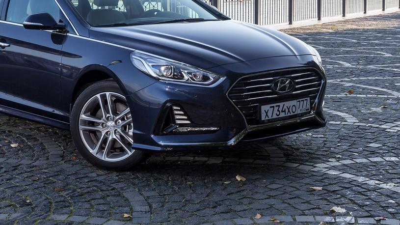 Посчитали-прослезились: светодиодная оптика Hyundai Sonata