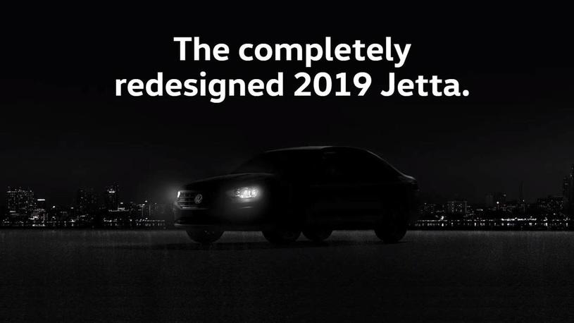 Новое поколение Volkswagen Jetta впервые показалось на тизере