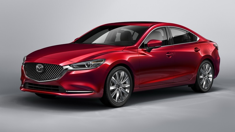 В России начались продажи обновленной Mazda6