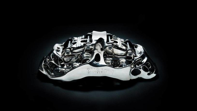 Компания Bugatti начала печатать тормозные суппорты на принтере