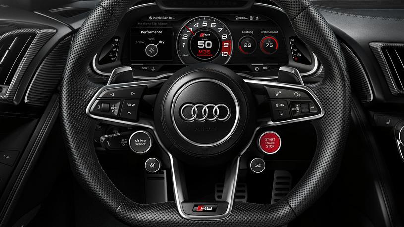 Посчитали-прослезились: спортивный руль Audi R8 Coupe